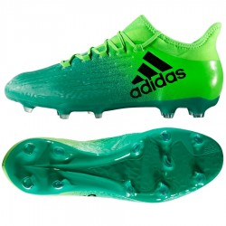 adidas X 16.2 FG - green/black