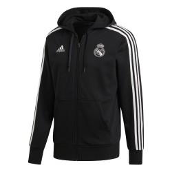 Kapucnis felső adidas Real Madrid 2018/19